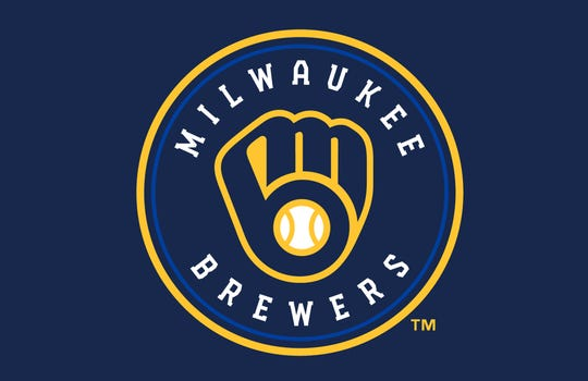 The Brewers global icon reintroduces the ball-In-glove as the main logo element. It has updated colors and a return to an industrial-style slab serif.
