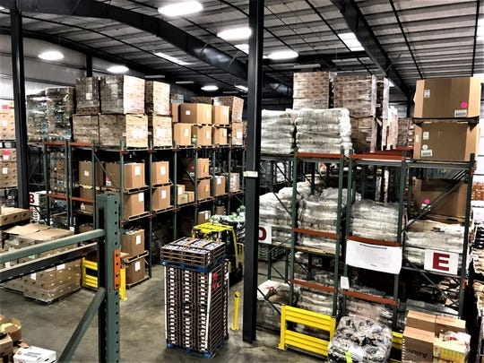 Montgomery Area Food Bank warehouse Nov. 14, 2019.