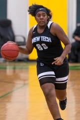 BrewTech's Nina Johnson (20) against Carver at the Carver campus in Montgomery on Thursday November 14, 2019.