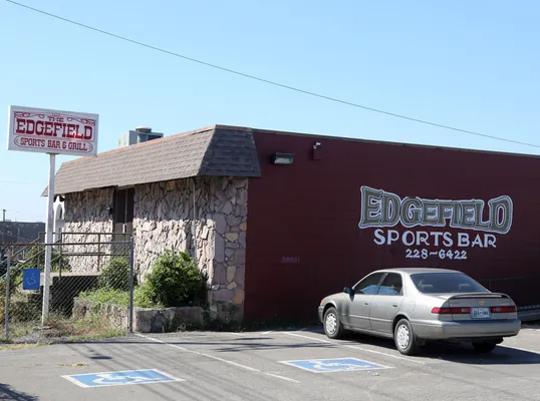 The former Edgefield Sports Bar