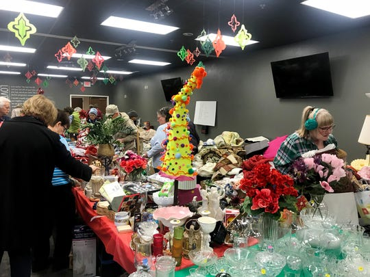 The annual holiday market of First United Pentecostal Church (aka First Church) is 9 a.m. to 2 p.m. Friday and Saturday at the church at 7512 Charlotte Pike.