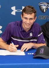 CSN's Jay Beshears signs with Northwestern
