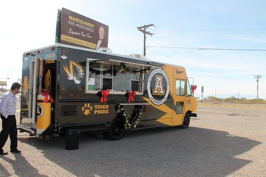 2019 file photo of Alamogordo Public School's food truck.