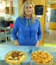Gale Comey dug deep into her mother's treasured recipes to come up with pies for locals and visitors to Ruidoso.