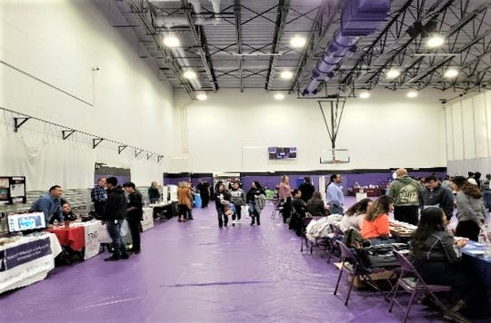 College/Career Day at Mescalero Schools drew many employers and students.
