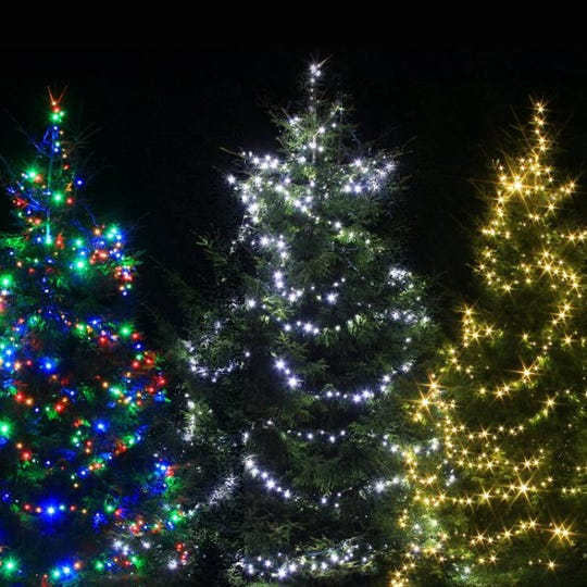 Christmas trees will be aglow in Farmington Hills on Dec. 3.