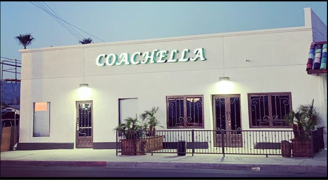 Coachella Smoke Co. is a proposed cannabis lounge and dispensary that will go up next to Coachella Bar (right).