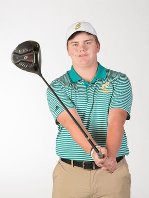 Catholic's Justin Burroughs is the reigning PNJ Boys Golfer of the Year.