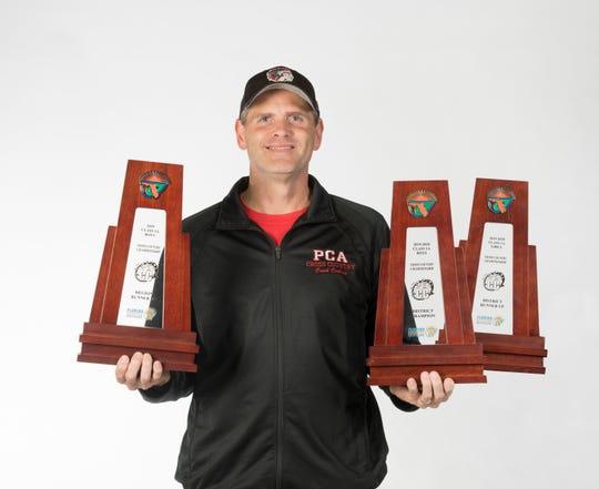 2019- Fall-PNJ All-Area Coach - Scott Cochran portrait in Pensacola on Thursday, Nov. 14, 2019.