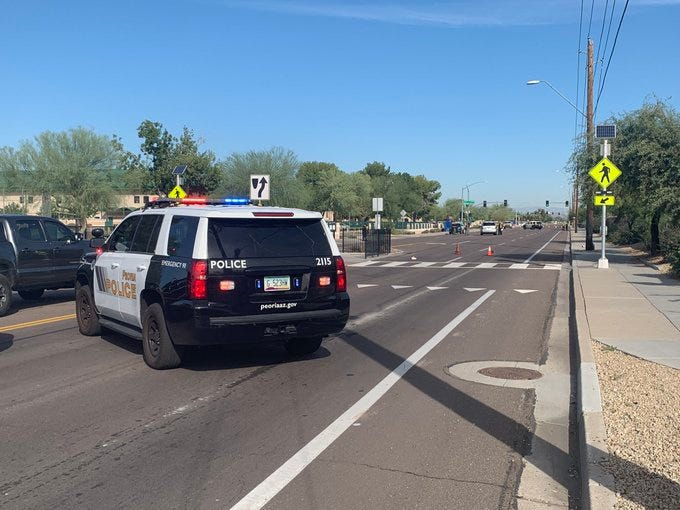 14-year-old student dies after being hit by vehicle near Peoria High School