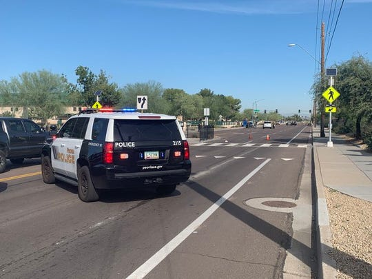 A 14-year-old student was fatally struck on Friday, Nov. 15, 2019, while walking in a crosswalk near Peoria High School.