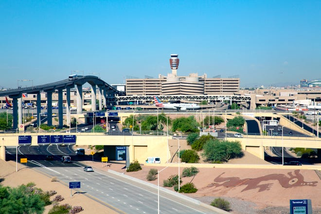 Phoenix Sky Harbor International Airport in 2019.