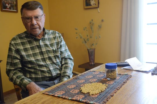 Jim Domagalski is a director with the United Soybean Board and a Columbus,  Michigan-based farmer.