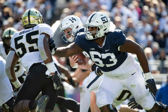 Should Rasheed Walker be in the Top 10 for most important players to watch for Penn State vs. Ohio State? He is judged with keeping quarterback Sean Clifford's blind side clean. And there is Chase Young ...