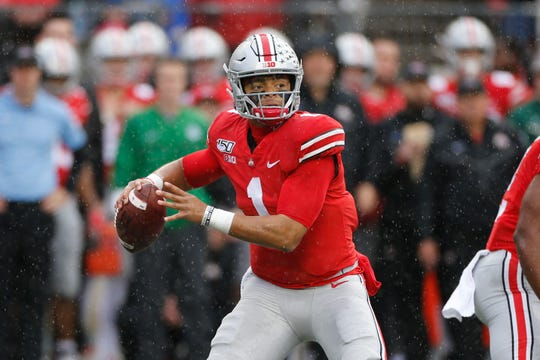 Slowing down Ohio State's high-scoring offense starts with stopping Justin Fields.