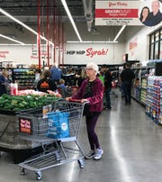 Fernley's Grocery Outlet bustled on its opening day.