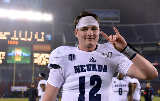Quarterback Carson Strong and Nevada went on the road to beat No. 24 San Diego State last week.
