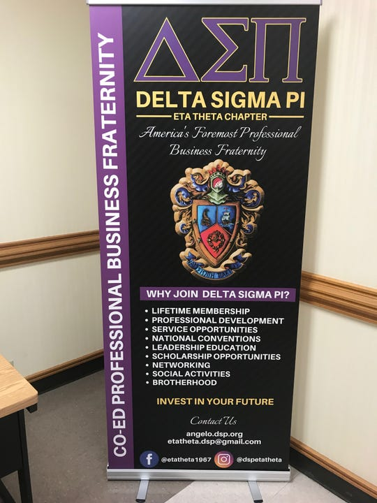 Membership in Angelo State University's Eta Theta Chapter of Delta Sigma Pi is open to all students.