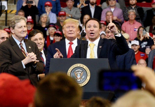 President Donald J. TrumpÕs Keep America Great Rally in Bossier City, Louisiana Thursday, Nov. 14, 2019.