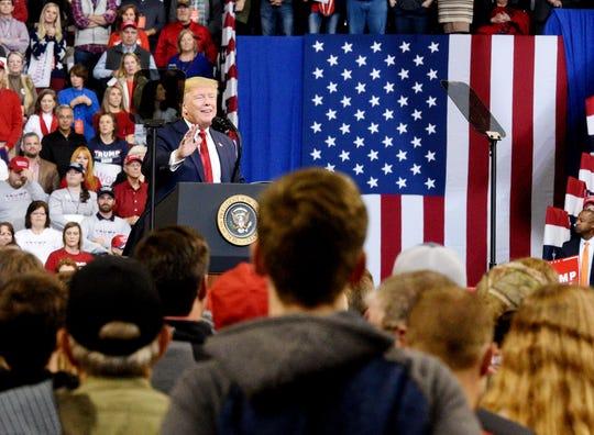 President Donald J. Trump's Keep America Great Rally in Bossier City, Louisiana Thursday, Nov. 14, 2019.