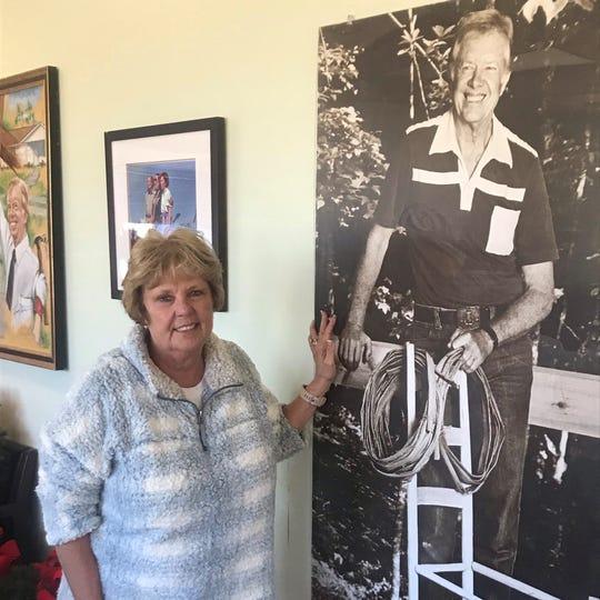 """We cherish him as a friend,"" Ruth Sanders, program coordinator for the Plains Better Hometown program, said on Wednesday in Plains, Ga.,, a day after Carterunderwentbrain surgery at an Atlanta hospital."