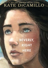 "Cover of author Kate DiCamillo's newest book, ""Beverly, Right Here,"" published September, 2019."