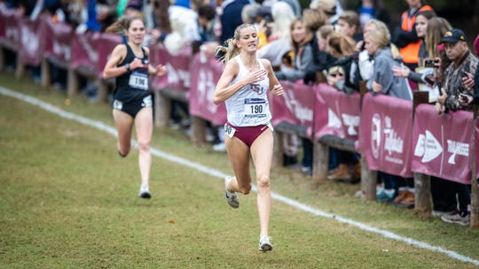 FSU junior Maudie Skyring was the fastest Seminole Friday morning, finishing in fourth place at the NCAA South Region Championship.