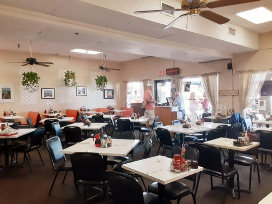 Alice's Family Restaurant in Stuart features indoor and outdoor seating. The roomy indoor dining area, pictured here, offers booth and table seating. The eatery is at 2781 E. Ocean Blvd., Stuart.