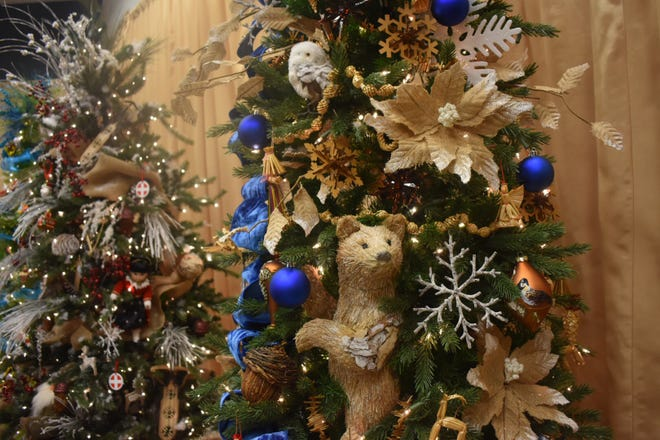 """A tree symbolizing Finland is part of a """"Christmas Around the World"""" exhibit at the Ronald Reagan Library in Simi Valley."""