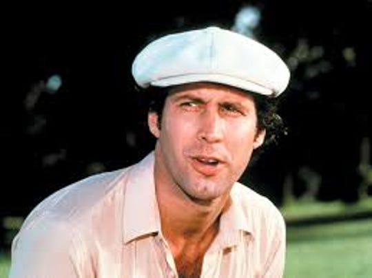 """Actor Chevy Chase as Ty Webb in """"Caddyshack."""""""