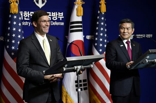 Trump demands five-fold increase in costs from South Korea to keep US troops, reports say