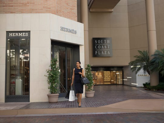 Located about an hour southeast of Los Angeles in Orange County, South Coast Plaza is like Rodeo Drive under one roof.
