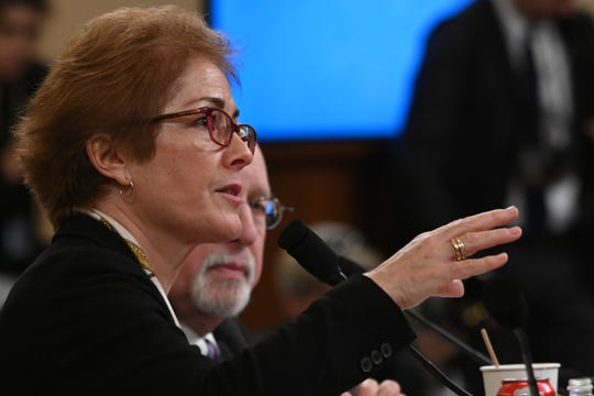 Former Ukraine ambassador Marie Yovanovitch testifies before the Permanent Select Committee on Intelligence on November 15, 2019.