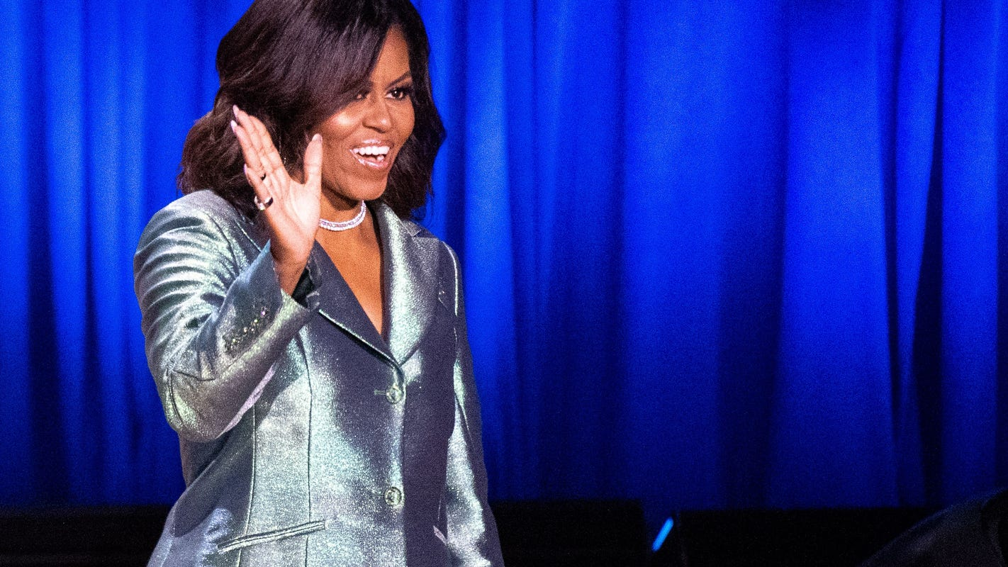 Michelle Obama's new journal guides fans to write their own 'Becoming'