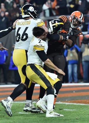 Myles Garrett Browns Steelers Suspensions Highlight Nfl