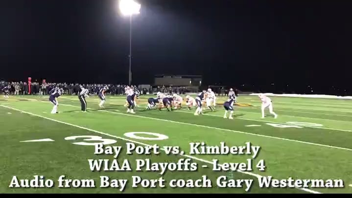 High School Football Highlights Bay Port Pirates Score On Six Straight Drives Take Advantage Of Turnovers To Advance To State Title Game