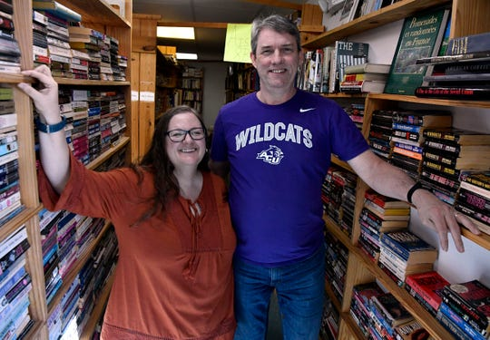 Lisa and Don Powell opened Book Therapy in mid-September after buying The Used Bookstore, which closed after the owner died earlier this year.
