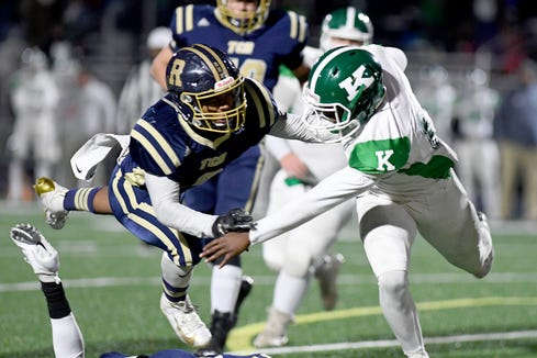 Roberson took on A.L. Brown in their first-round playoff game at Roberson High School on Nov. 15, 2019. The Rams lost 56-50 and will not advance.