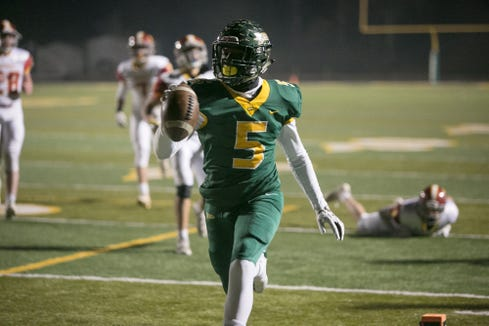 Reynolds defeated Hickory 55-6 in the first round of the NCHSAA 3A playoffs Nov. 15, 2019, at Reynolds.