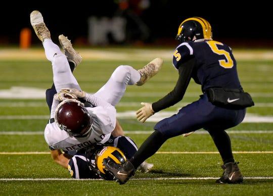 Frankfort-Schulyer vs. Tioga, Class D regional football at Vestal High School, Friday, November 15, 2019.