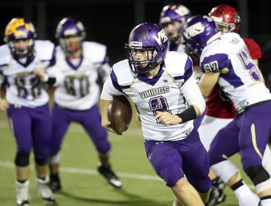 North Kitsap sophomore Colton Bower is the Kitsap Sun football player of the year for 2019.