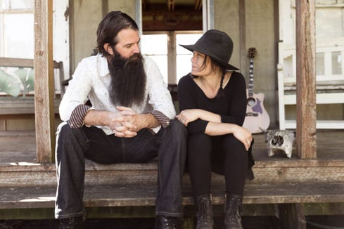Husband-and-wife rock duo The Mutineers play Nov. 22 at the Manette in Bremerton.