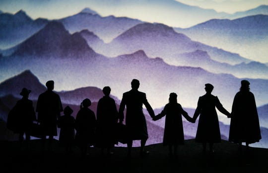 "Scene of the Richard Rogers musical ""The Sound of Music"" with the Trapp family during a dress rehearsal, on Friday, Feb. 25, 2005, at Vienna's Volksoper. Premiere is on Saturday,  Feb. 26, 2005."
