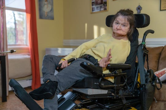 Bridgewater Arc resident, Viky Mihal, would love to more easily access her television, lights and more - giving her more independence. A tech-controlled environmental unit would help her.