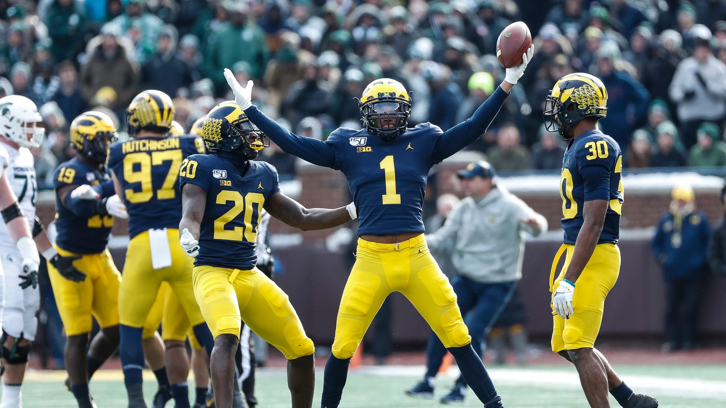 Staying or going to NFL? Michigan football cornerback Ambry Thomas not tipping his hand