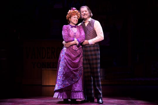 "Carolee Carmello and John Bolton in the touring version of ""Hello, Dolly!"""