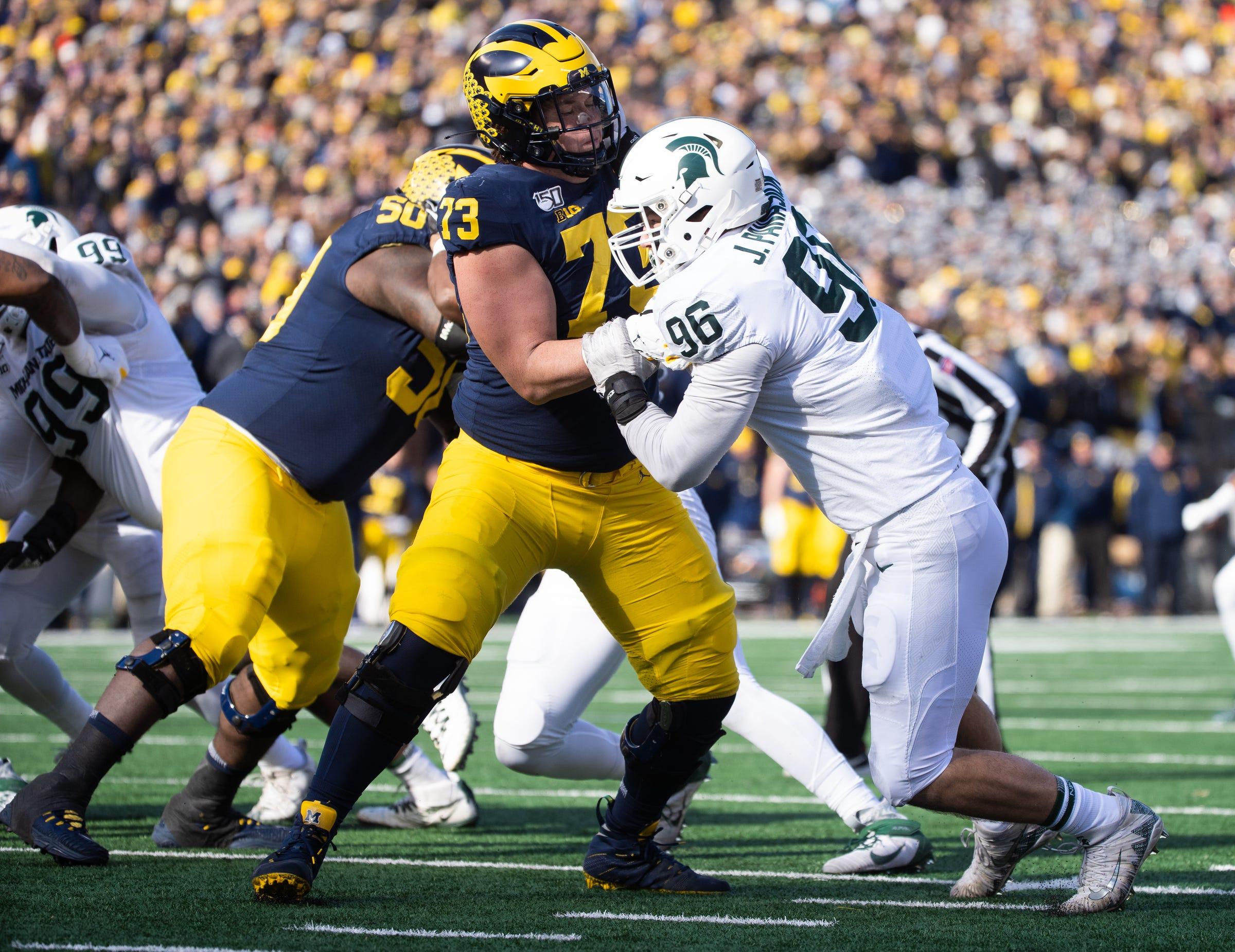 Michigan football OT Jalen Mayfield No. 14 in 2021 NFL draft rankings
