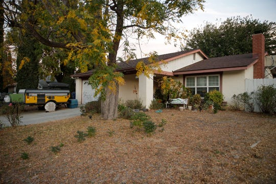 The family home of school shooter is seen in Santa Clarita, Calif.