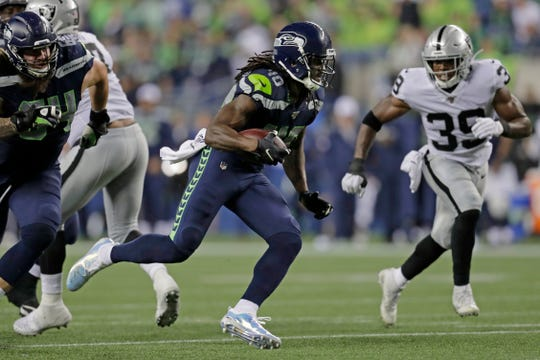 Running back Bo Scarbrough spent time with the Seattle Seahawks this preseason.