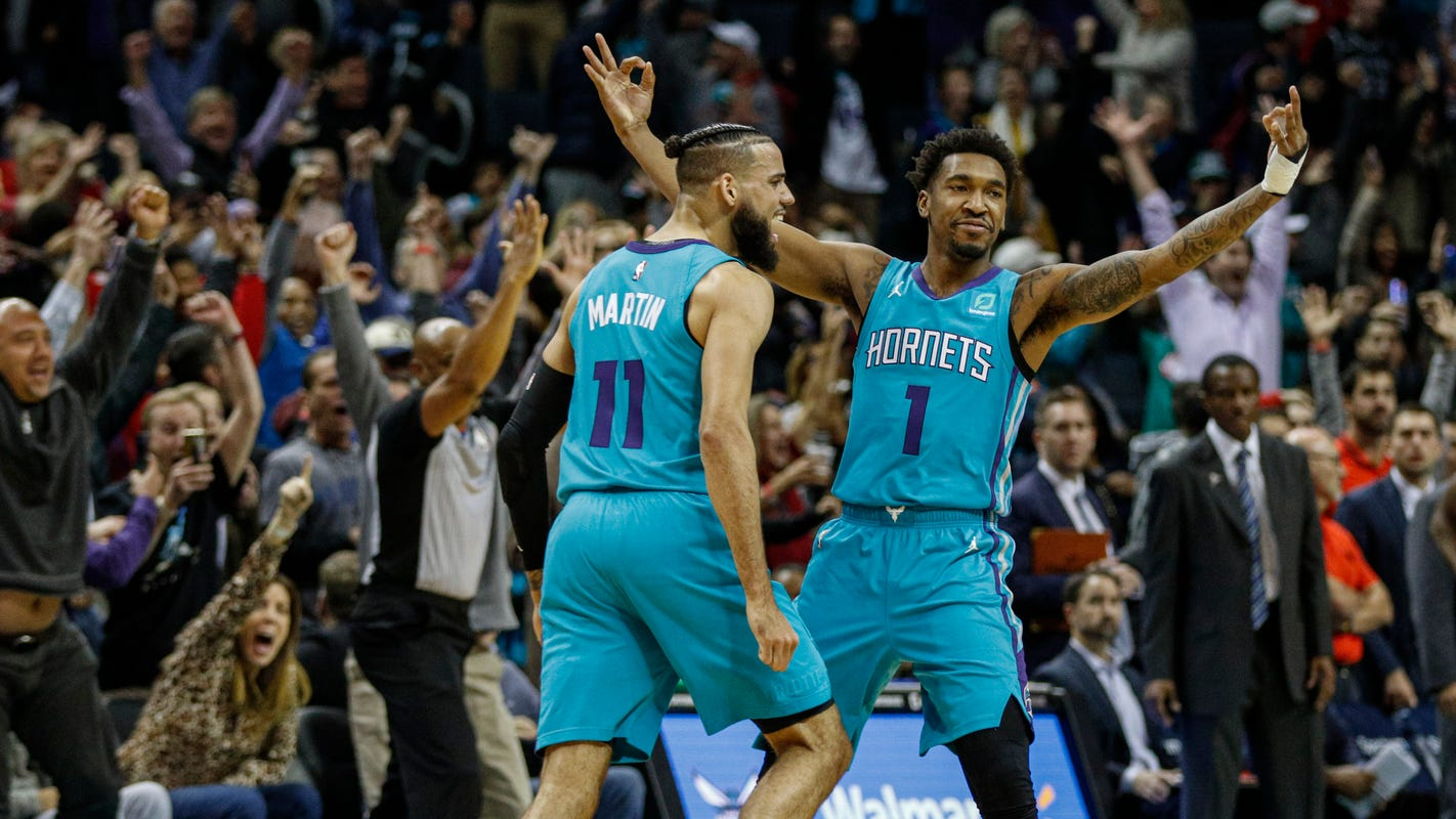 Pistons squander prime chance to end losing streak, fall to Hornets at buzzer
